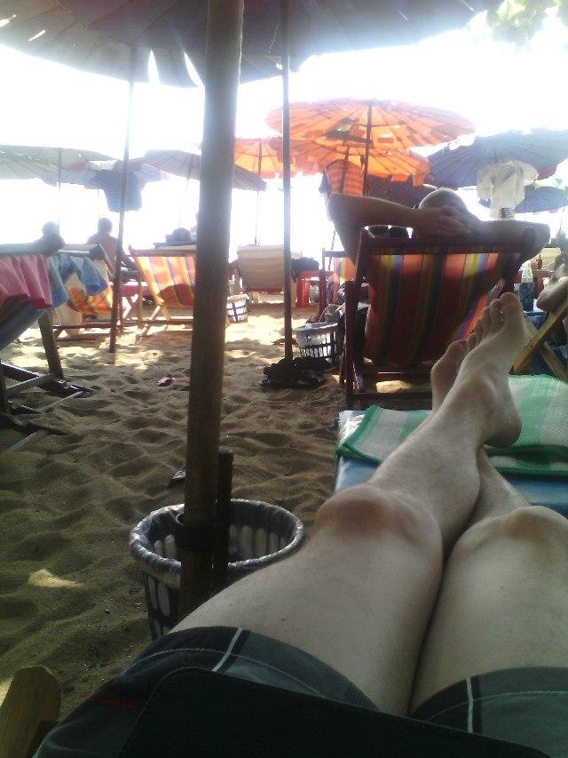 Просто на пляжу