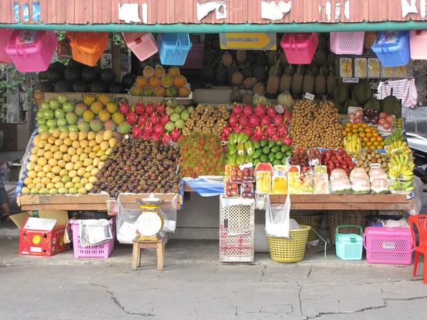 Куча фруктов